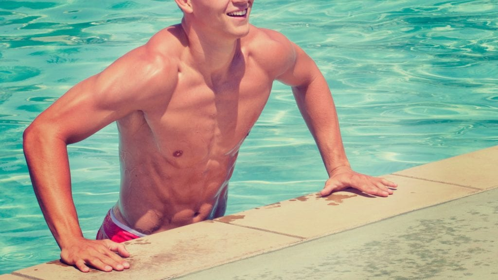 What is emsculpt? Get poolside abs!